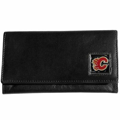 NHL Calgary Flames Genuine Leather Women's Wallet