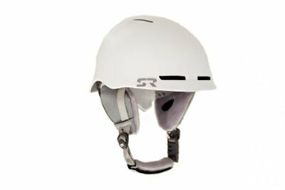 Shred Ready Forty4 Snow Sport Helmet, X-Large, White