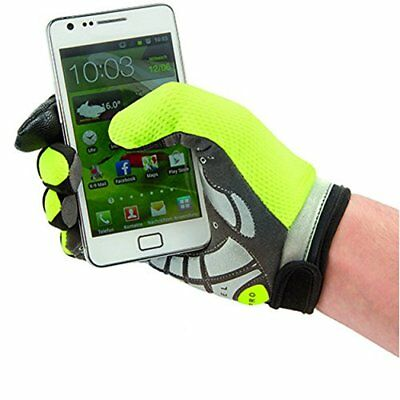 M-Wave TouchScreen Glove, Neon Green, Large