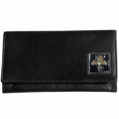 NHL Florida Panthers Genuine Leather Women's Wallet