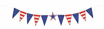 In the Breeze Stars and Stripes Pennant String