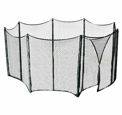 Universal Trampoline Net to Enclose a Multiple Trampoli