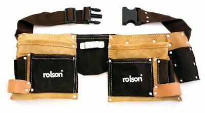Rolson 68628 Two Tone Double Tool Pouch