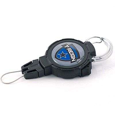 T-REIGN Outdoor Large Retractable Gear Tether, Carabine