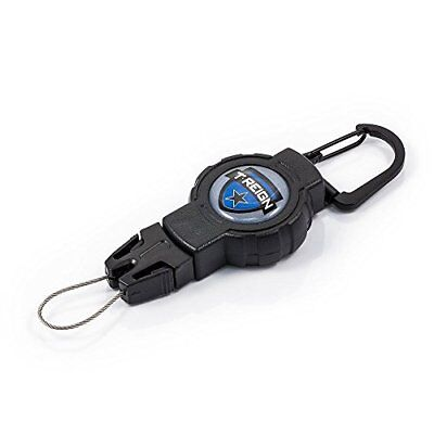 T-REIGN Outdoor Small Retractable Gear Tether, Carabine