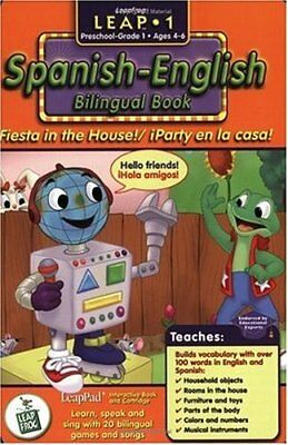 First Grade LeapPad Book - Fiesta in the House: Spanish