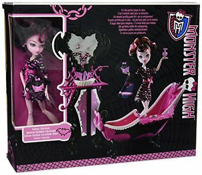 Monster High Draculaura Powder Room Playset with Exclus