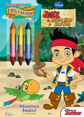 Bendon Jake and the Neverland Pirates Coloring Book wit