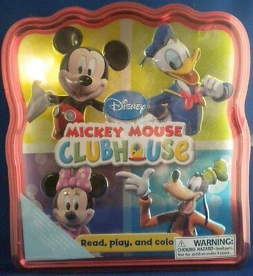Disney Mickey Mouse Clubhouse Read, Play, and Color