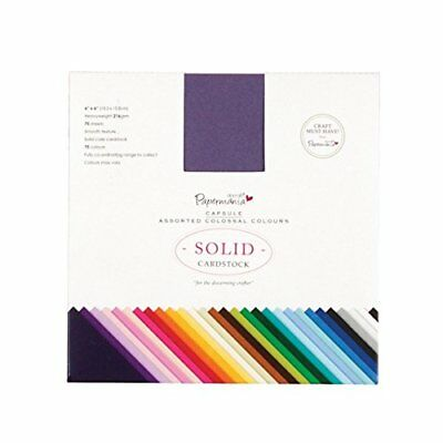 docrafts Papermania Premium Smooth Solid Cardstock Pack