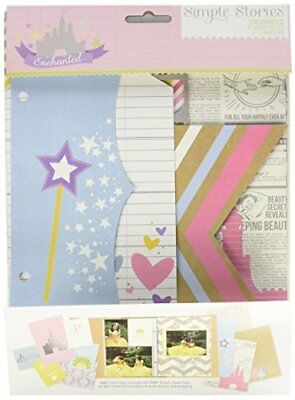 Simple Stories Snap Enchanted Pages (9 Pack)