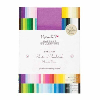 docrafts Papermania Premium Textured Solid Cardstock Pa