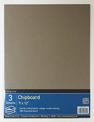 "Crescent #40C Chipboard, Value Pack, 3 Count, 9"" x 12"""