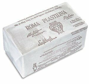 Sculpture House Roma Plastilina Modeling Material gray-
