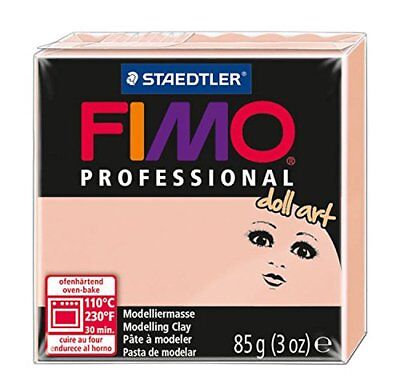 Staedtler Fimo Professional Doll Art Clay, 3-Ounce, Ros