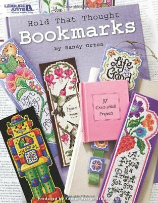 Hold That Thought Cross Stitch Bookmarks Book