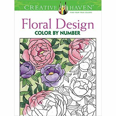 Dover Creative Haven Floral Design Publications Colorin