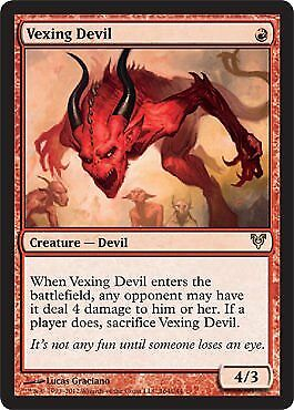 Magic: the Gathering - Vexing Devil (164) - Avacyn Rest