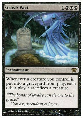 Magic: the Gathering - Grave Pact - Eighth Edition