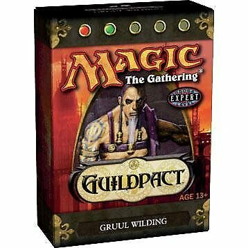 Magic the Gathering MTG Guildpact Gruul Wilding Theme D