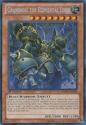 Yu-Gi-Oh! - Grandsoil the Elemental Lord (REDU-EN038) -