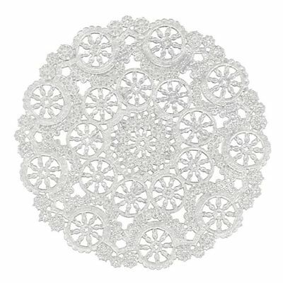 Royal Medallion Lace Round Paper Doilies, 10-Inch, Pack