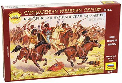 Zvezda Carthagenian Numidian Cavalry - Model Kit Z8031