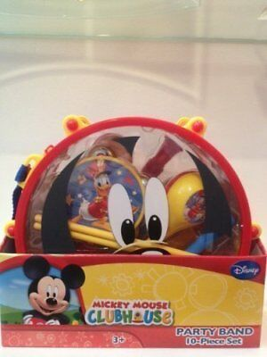 Disney Mickey Mouse 10 Pc Party Band