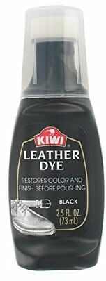 Kiwi Dye Black Leather, 2.5 OZ (Pack of 3)