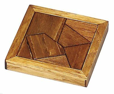 Wooden puzzle plate puzzle