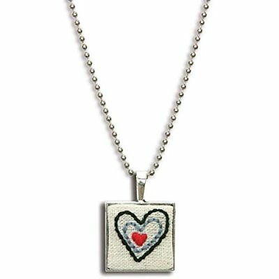 Dimensions Crafts 72-74075 Heart Bezel Embroidery Kit