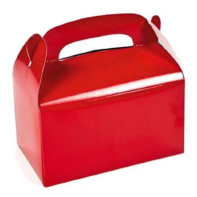 Red Treat Boxes (1 dz)