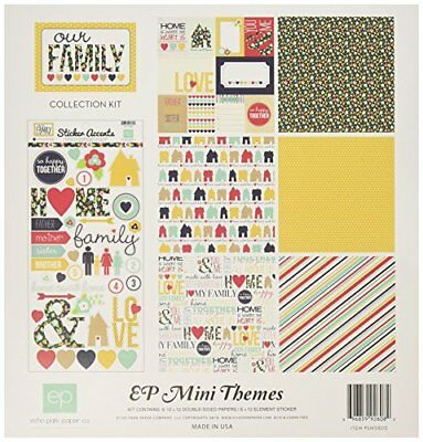 Echo Park Paper Company Our Family Collection Kit