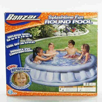 Banzai Splashtime Fun Round Inflatable Pool