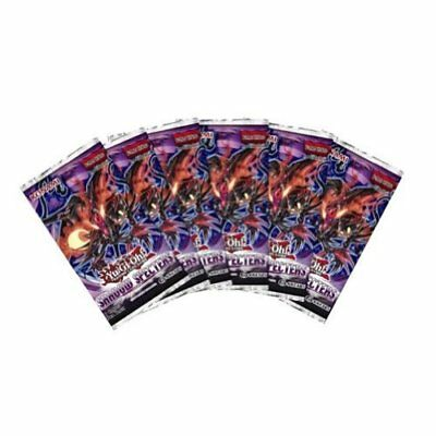 Yugioh Shadow Specters SEALED 6-PACK LOT - Yugioh Colle