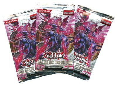 Yu-Gi-Oh - Galactic Overlord - Booster Pack (Lot of 3)