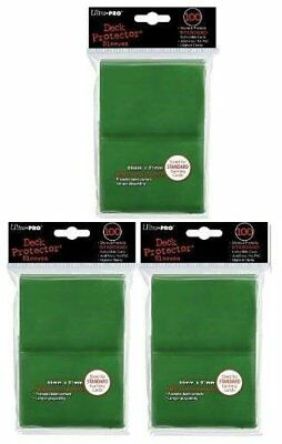 Ultra Pro Card Supplies STANDARD Card Sleeves Lot of 3