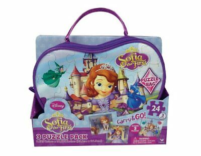 Sofia the First Carry and Go 3-Pack Puzzle Bag