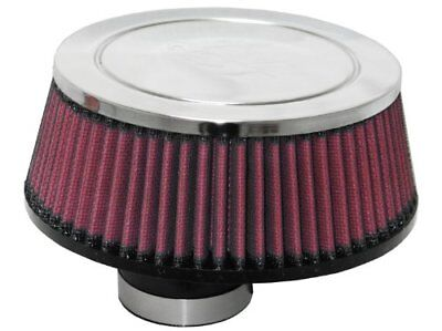 K&N RC-70018 Universal Clamp-On Air Filter: Round Taper