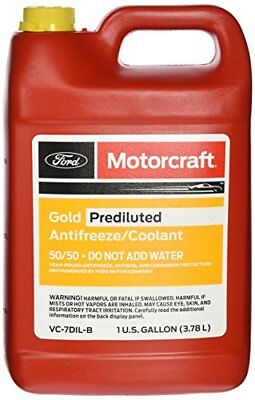 Genuine Ford Fluid VC-7DIL-B Gold Pre-Diluted Antifreez