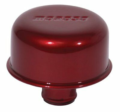 Moroso 68718 Red Powder Coated Push-In Valve Cover Brea