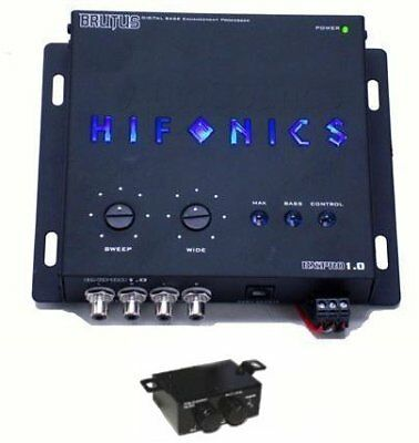 NEW HIFONICS BXIPRO1.0 Digital Bass Enhancement Process