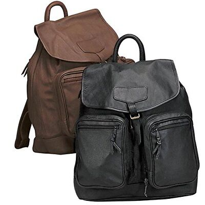 Sporty Leather Shopping Travel Backpack Bag