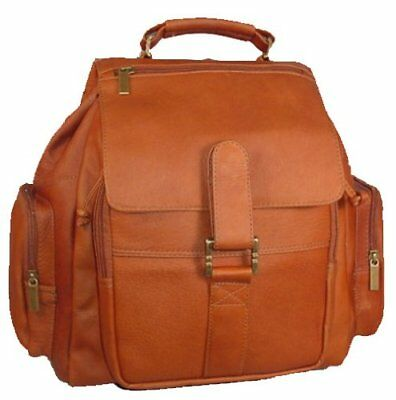 David King & Co. Top Handle Promotional Backpack, Tan,