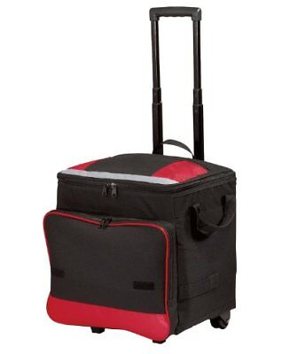 Port Authority - Rolling Cooler. - Red - OSFA