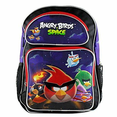 "16"" Angry Birds Space Large Backpack-tote-bag-school"