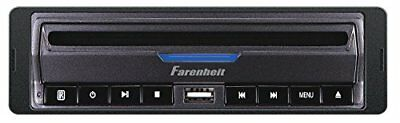 Farenheit DVD-39 In-Dash DVD / MP3 Player with USB and