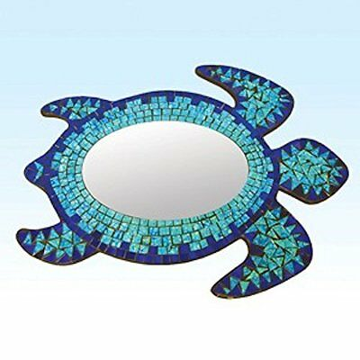 Mosaic Sea Turtle Mirror Wall Hanging by Beachcombers