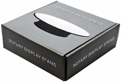 """Rotary Rotating Display Stand 8"""" Small Mirror Top"""