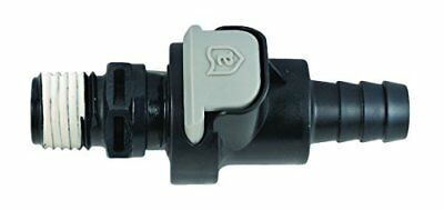 Attwood Universal Male and Female Sprayless Connector,